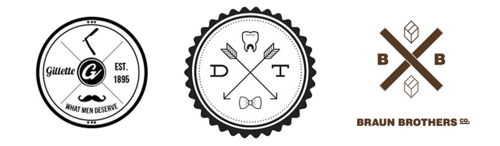 hipsterskie logo