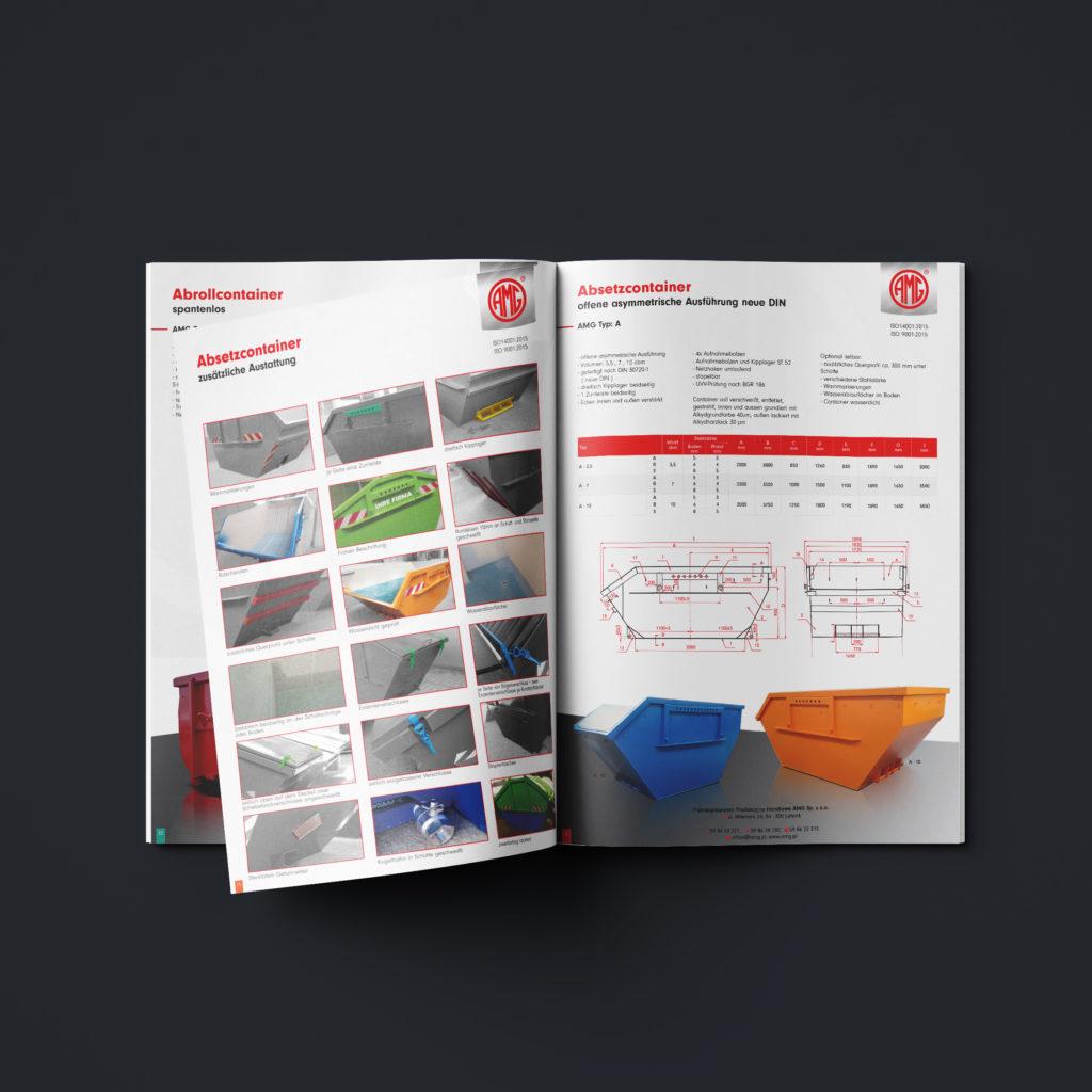 Katalog z produktami firmy AMG - Studio Graficzne Wzór