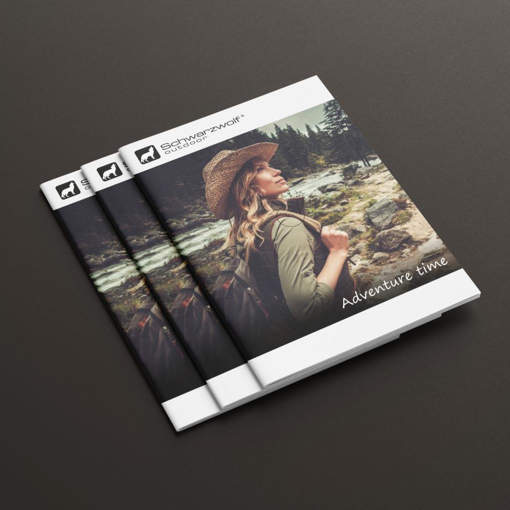 Projekt katalogu z gadżetami - Studio Graficzne Wzór