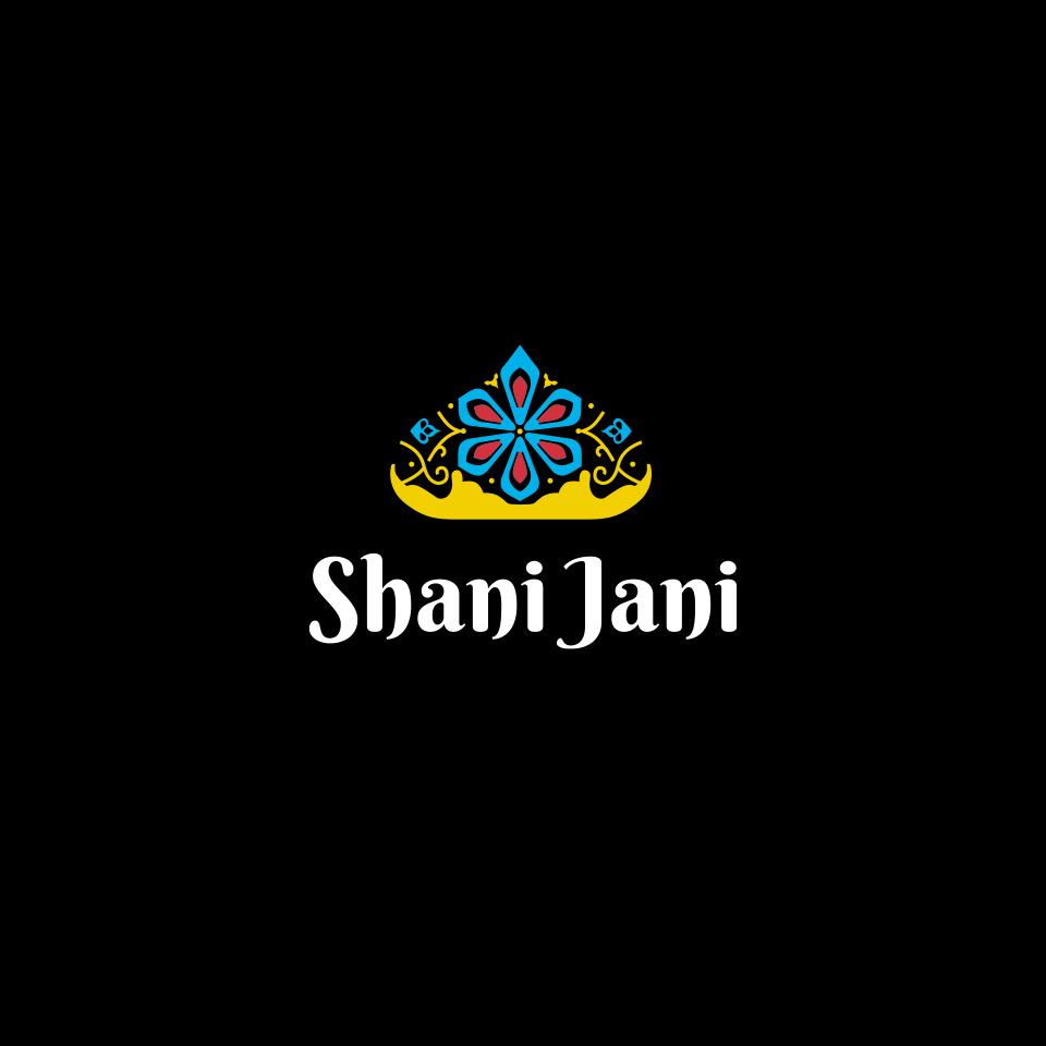 Logo restauracji pakistańsko-indyjskiej Shani Jani