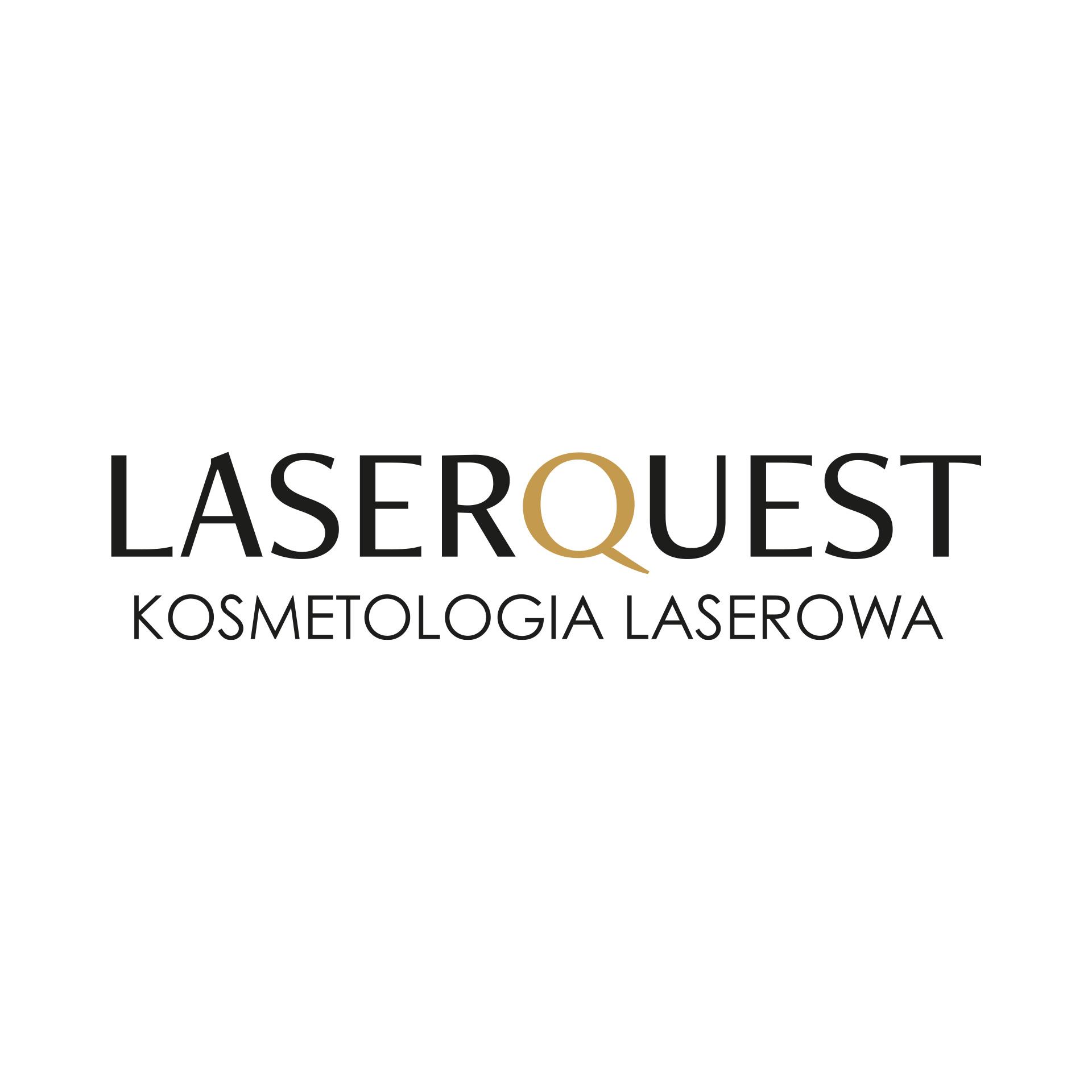 Projekt graficzny logo  dla kosmetologa Laserques