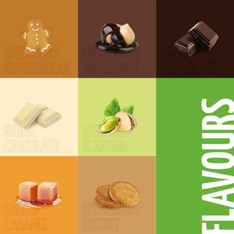 Piktogramy wykorzystywane w projektach opakowań i etykiet marki Better Foods