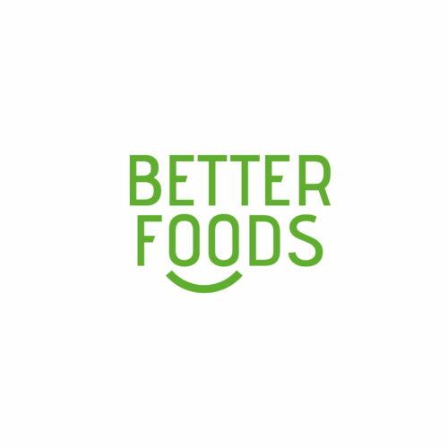 Logo marki Better Foods działającej w branży spożywczej