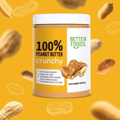 Etykieta produktowa zaprojektowana przez Studio Graficzne Wzór dla #better-foods