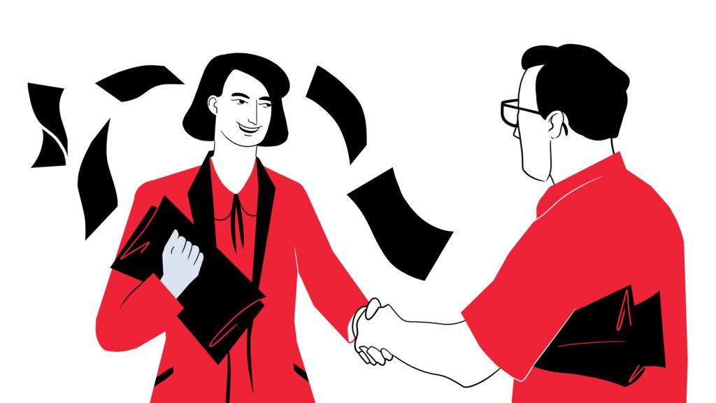10 sposobw na pozyskiwnaie leadw sprzedaowych ilustracje 2 bold 1024x576 1 | studio graficzne wzór | 8 sposobów na pozyskiwanie leadów sprzedażowych, czyli jak dotrzeć do nowych klientów |
