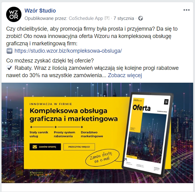 Adnotacja 2020 02 20 140336 | studio graficzne wzór | jak planować posty na facebooku firmy? |
