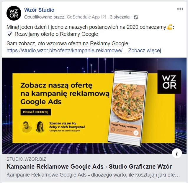 Adnotacja 2020 02 20 143847 | studio graficzne wzór | jak planować posty na facebooku firmy? |