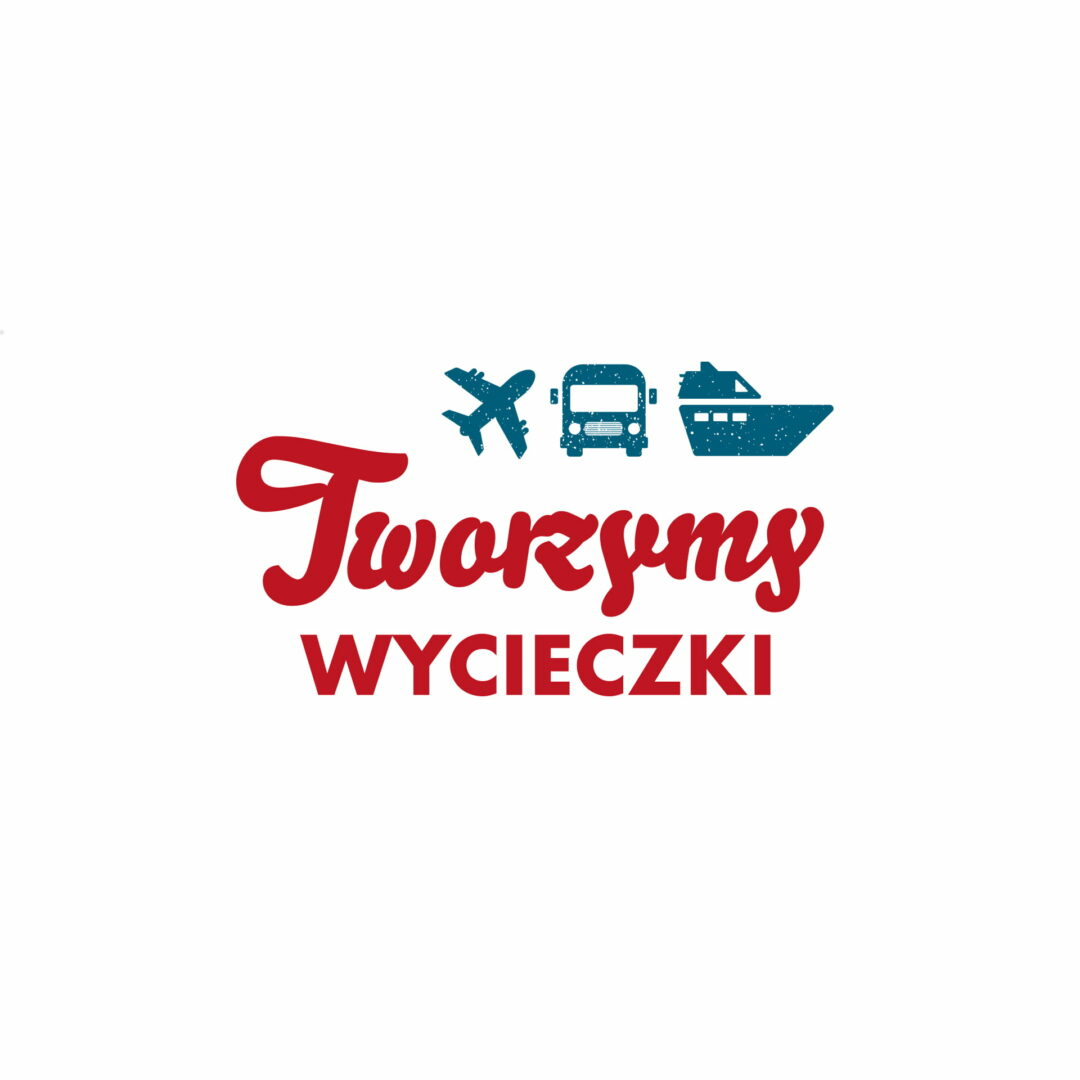 Projekt graficzny logo marki Tworzymy Wycieczki