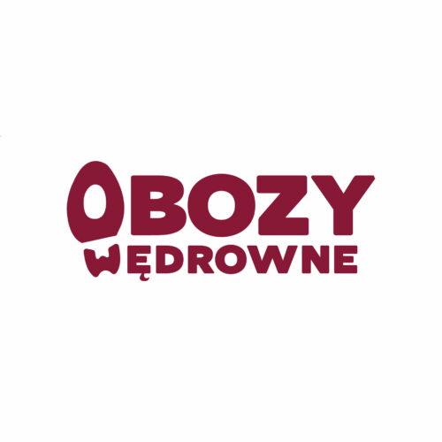 Projekt logo dla firmy turystycznej Obozy Wędrowne