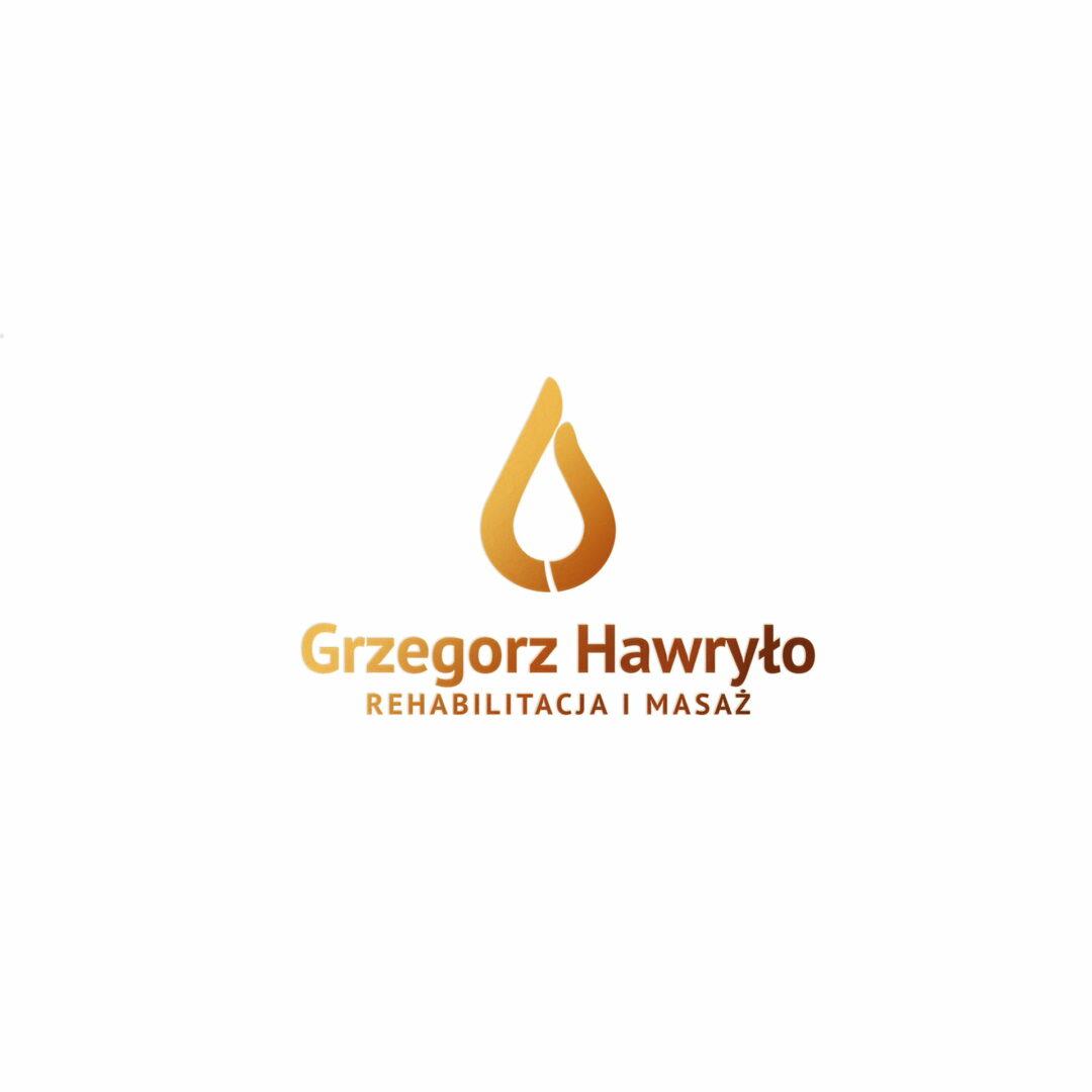 Projekt logo fizjoterapeuty Hawryło