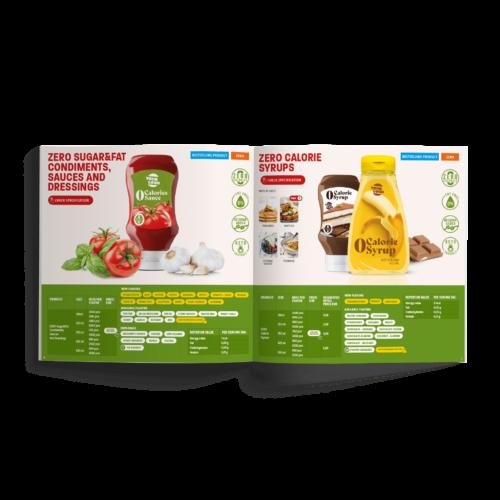 Katalog kwadratowy - Makieta - Katalog firmy #amerpharma