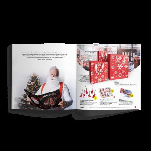 Katalog kwadratowy - Makieta - Katalog produktowy z gadżetami wersja świąteczna #macma