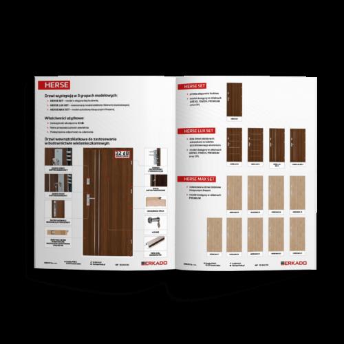 Katalog produktowy - folder reklamowy, broszura #erkado