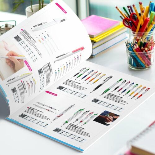 Wizualizacja projektu katalogu gadżetów firmy Macma
