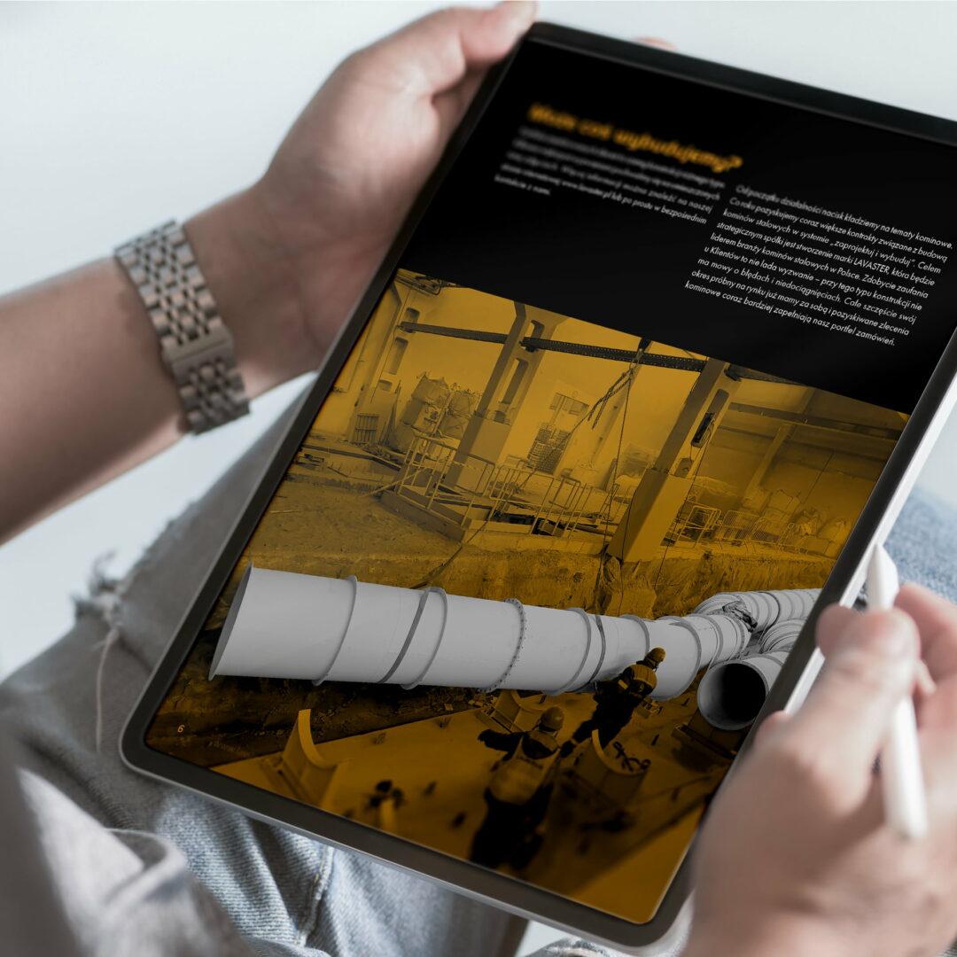 Wersja elektroniczna katalogu firmy Lavaster z branży stalowej