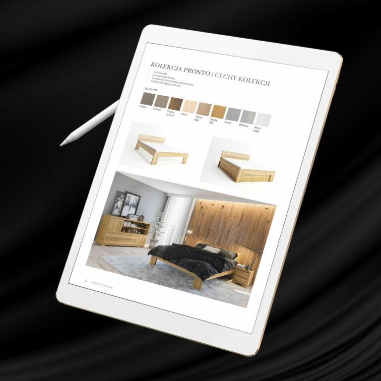 Katalog z meblami firmy Polano Meble w wersji elektronicznej