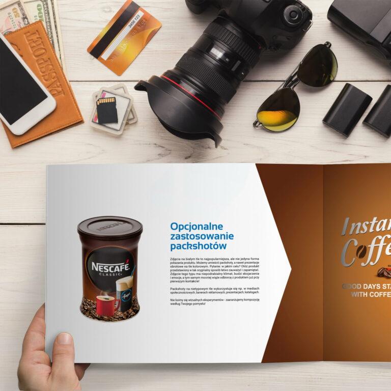 Wizualizacja projektu graficznego katalogu studia fotograficznego fp360