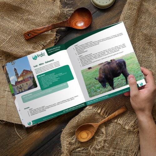 Prezentacja katalogu wycieczek biura podróży Rajskie Wrota