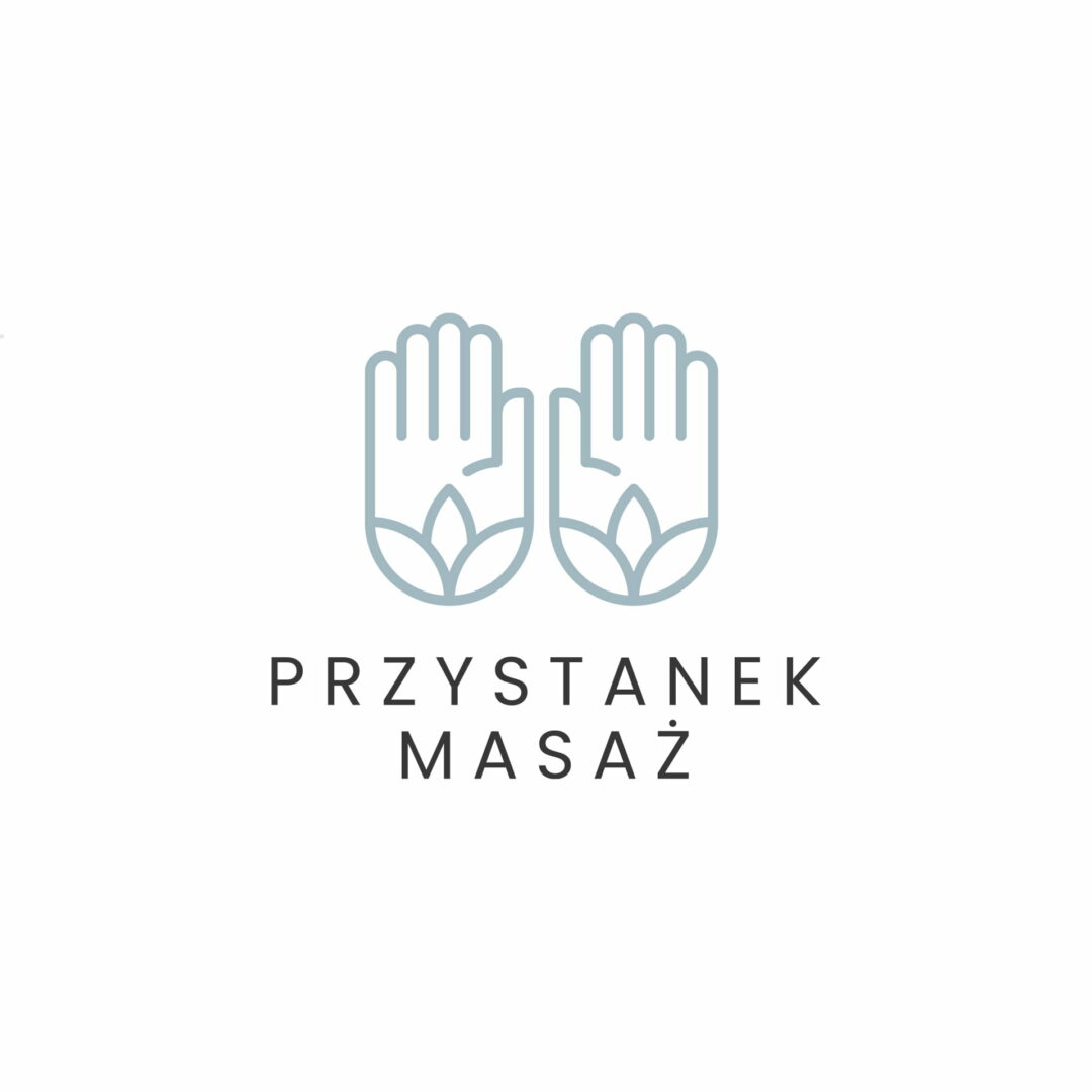 Projekt logo masażysty dla firmy Przystanek Masaż