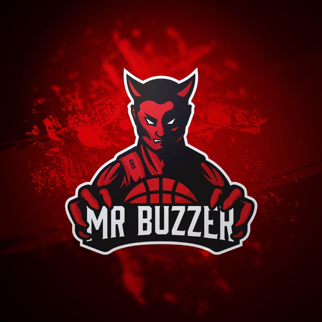 Wizualizacja logo marki medialnej Mr Buzzer