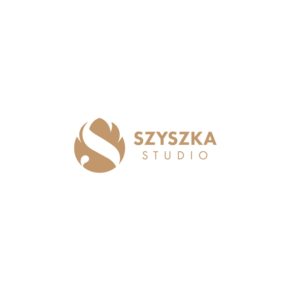 Projekt logo studia fotograficznego Szyszka Studio