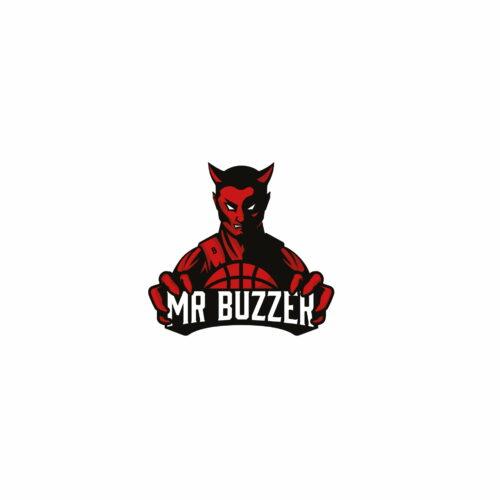 Projekt graficzny logo marki medialnej Mr Buzzer