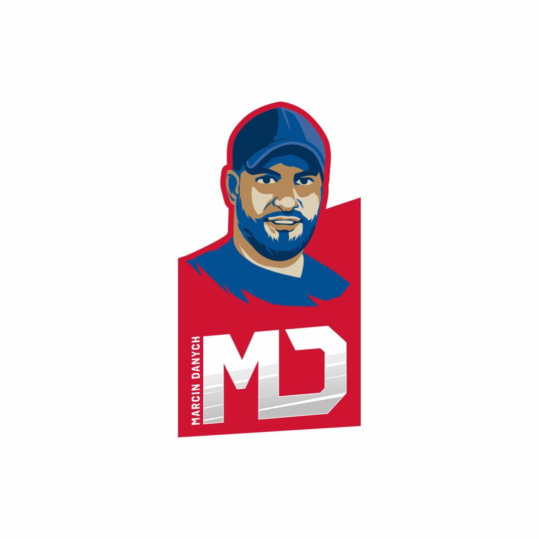 Projekt graficzny logo dla marki osobistej Marcina Danycha