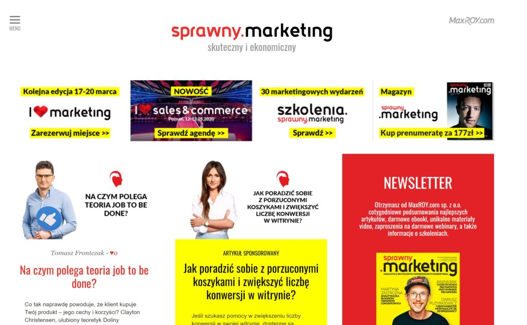 Screenshot 3 1024x632 1 1 | studio graficzne wzór | 99 blogów i podcastów o biznesie, marketingu i sprzedaży, które musisz obserwować w 2020 |