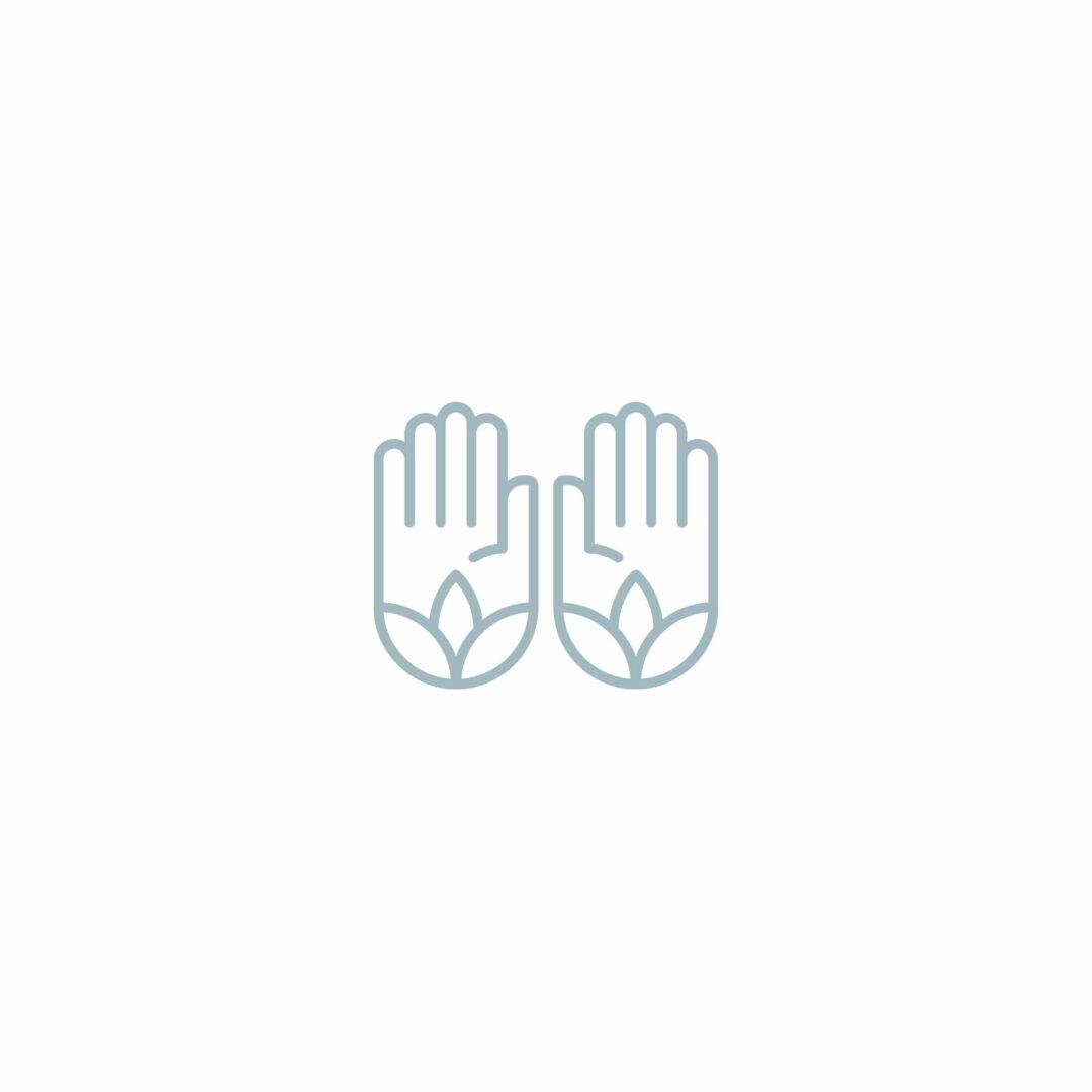 Projekt logo dla gabinetu masażu