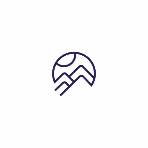 Sygnet logo zaprojektowanego dla firmy Spokój na Szlaku