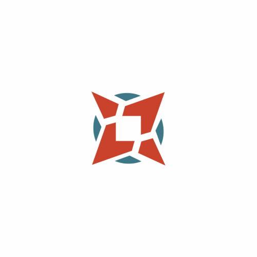 Sygnet logo zaprojektowanego dla marki turystycznej Na Szlaku przez Studio Graficzne Wzór
