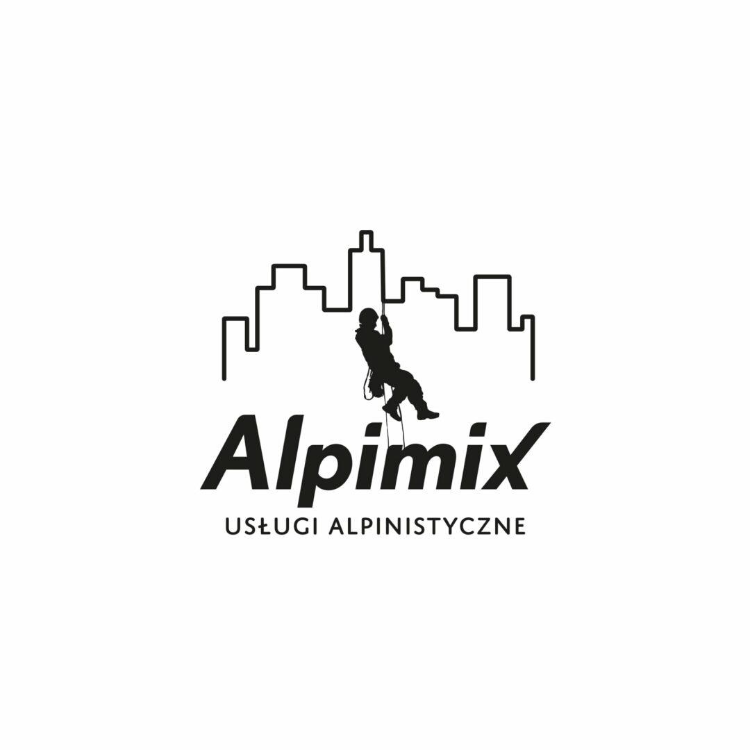Projekt logo firmy Alpimix