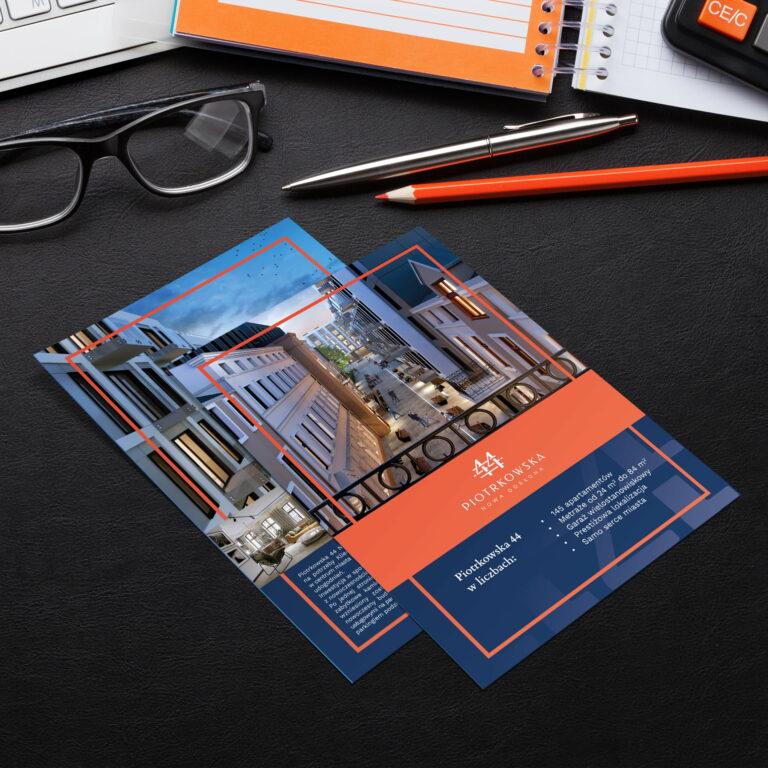 Prezentacja projektów katalogów z mieszkaniami firmy Vision Invest