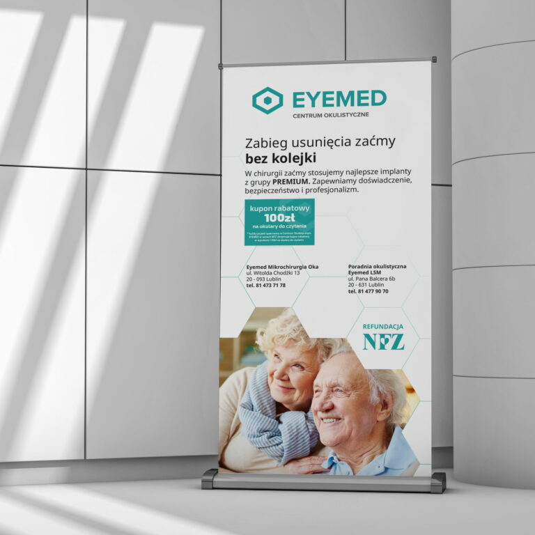 Projekt rollupu kliniki okulistycznej #eyemed