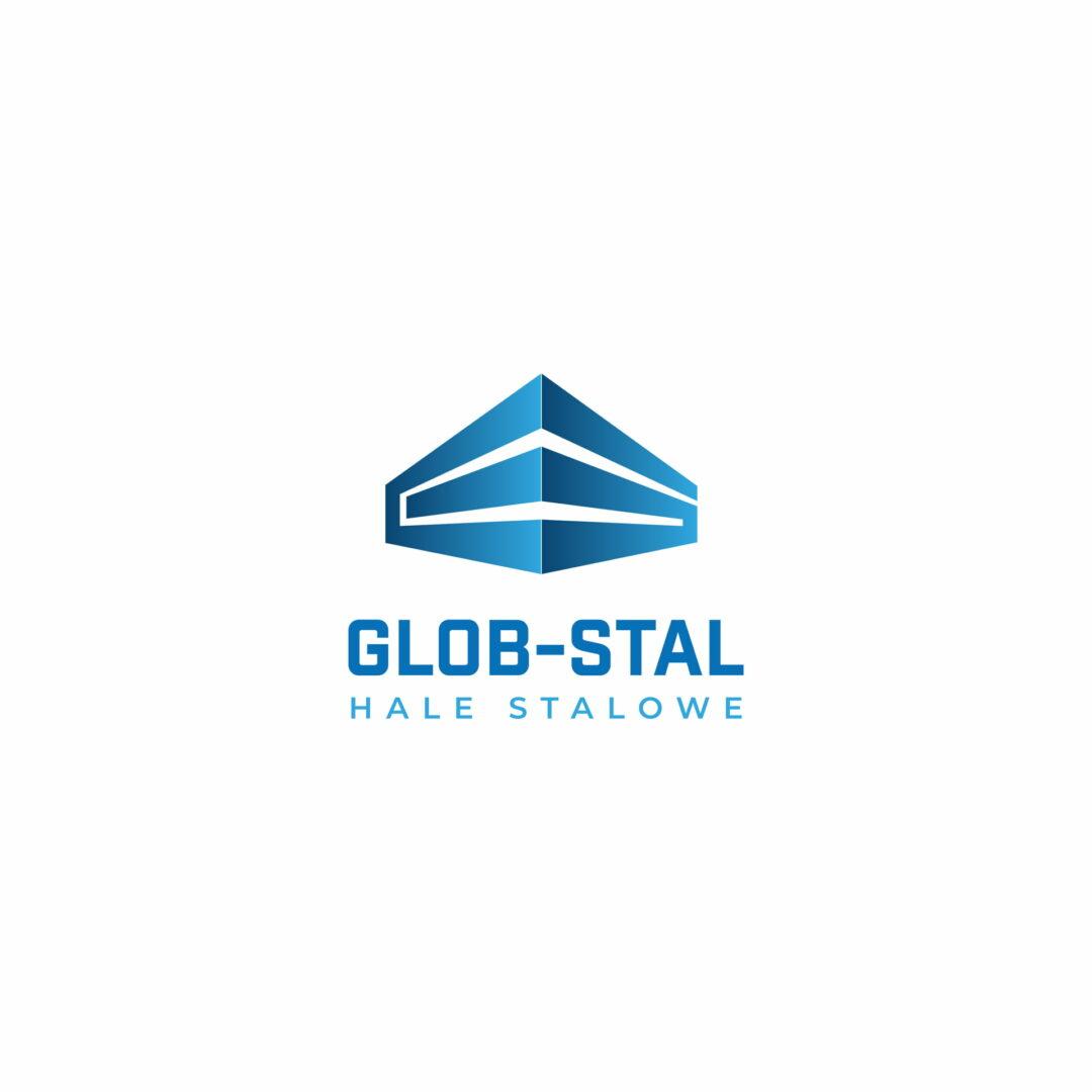Projekt graficzny logo marki produkcyjnej #glob-stal
