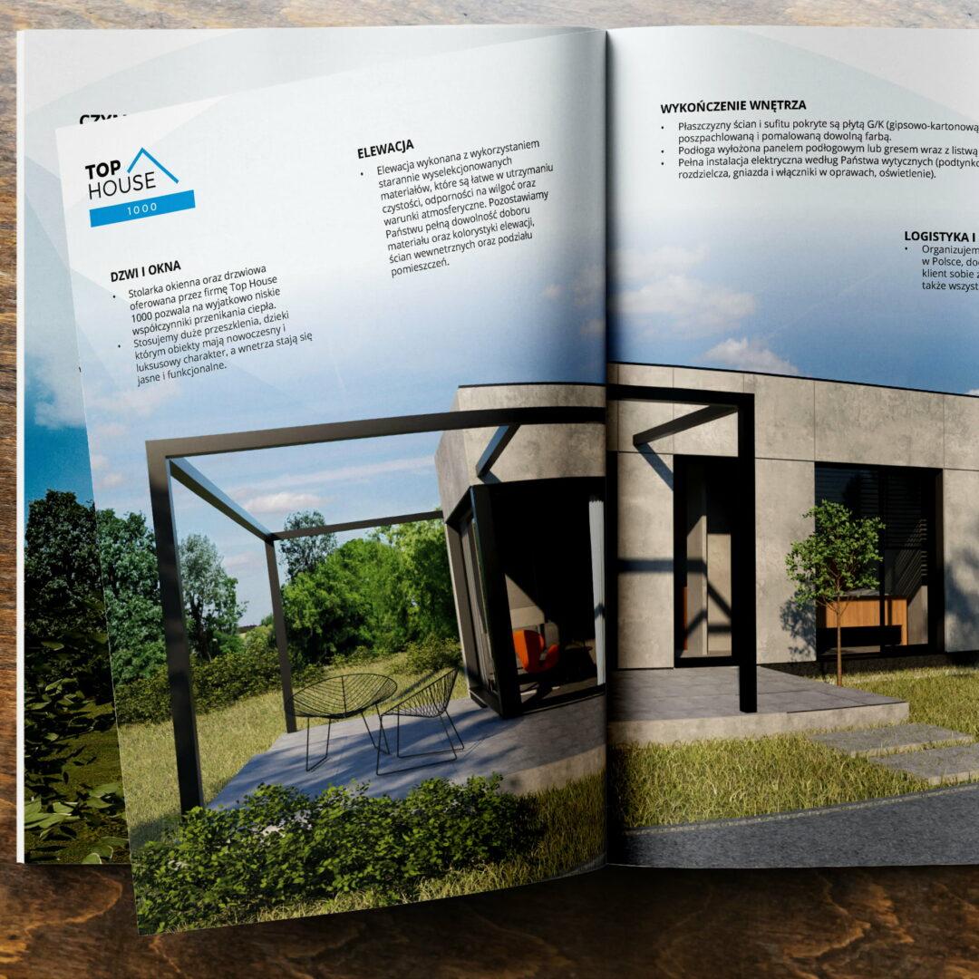 Wizualizacja katalogu z ofertą domów #top-house-1000