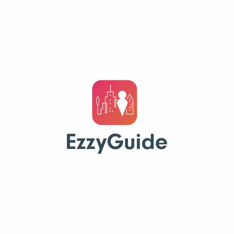 Projekt logo aplikacji turystycznej #ezzy-guide