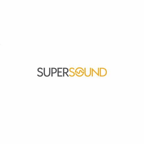 Projekt graficzny logo sklepu muzycznego #supersound