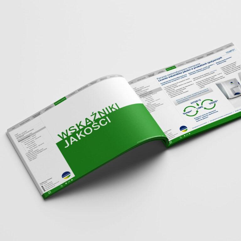Projekt folderu medycznego #biomerieux