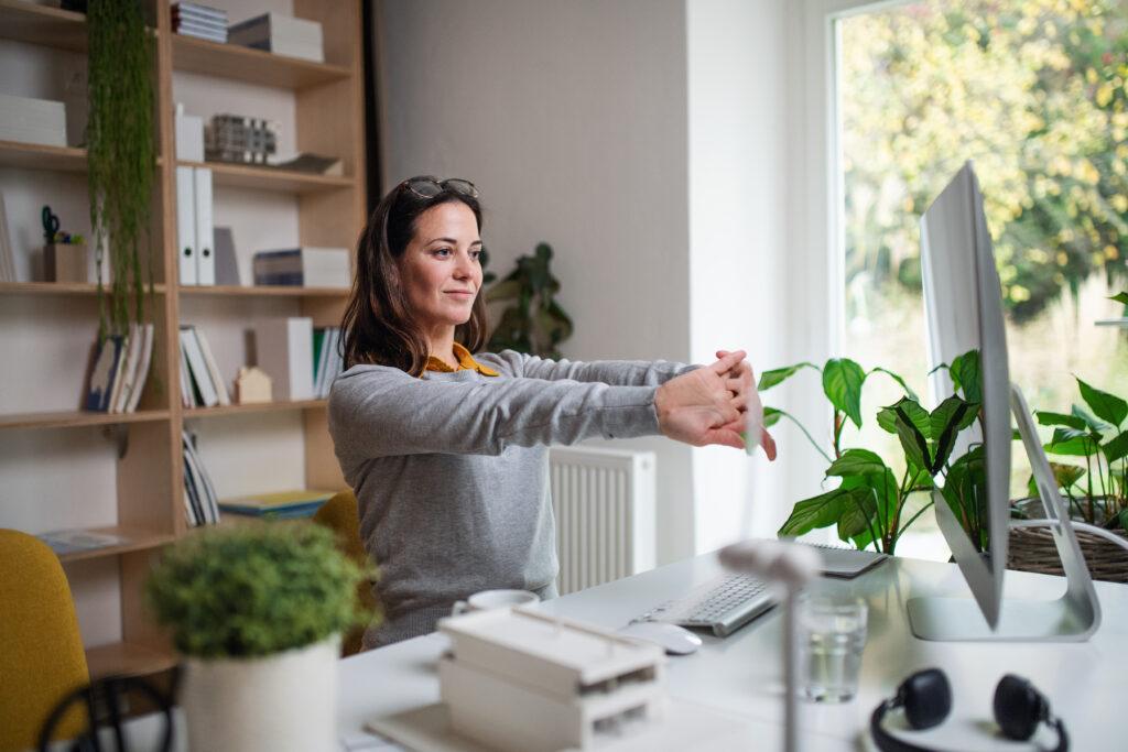 Home office, które pomaga zwiększać efektywność pracy zdalnej